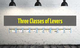 Copy of Three Classes of Levers
