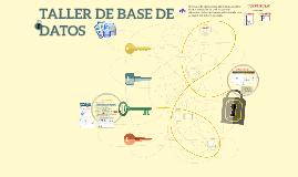 Copy of TALLER DE BASE DE DATOS
