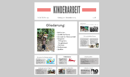 Copy of KINDERARBEIT