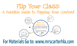 How to Flip Your Class: A Feasible Guide to Flipping Your Content