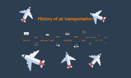 History of air transportation