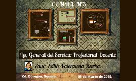 Copy of Ley General del Servicio Profesional Docente 2015