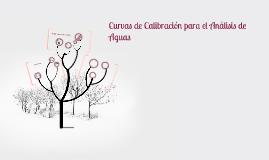 Copy of Curvas de Calibración para el Análisis de Aguas
