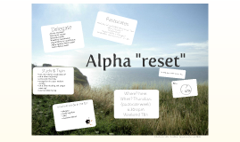 Alpha reset
