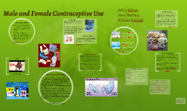 Copy of Male and Female Contraceptive Use