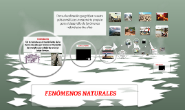 Copy of FENÓMENOS NATURALES