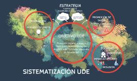 sistematización ude