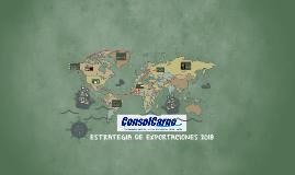 ESTRATEGIA DE EXPORTACIONES 2018