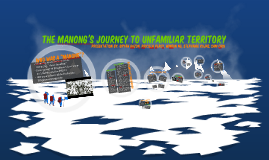The Manong's Journey to Unfamiliar Territory