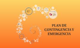 PLAN DE CONTINGENCIA Y EMERGENCIA