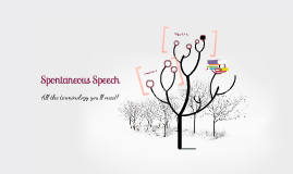Spontaneous speech analysis