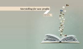 Storytelling for non-profits