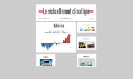 Le réchauffment climatique