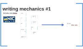English 115: Writing Mechanics 1