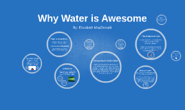 Why Water is Awesome