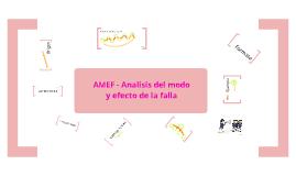Copy of Copy of AMEF: Analisis del modo de efecto de la falla