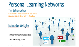 LEC2014: Personal Learning Networks