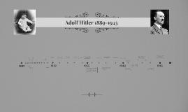 Adolf Hitler- 1889-1945