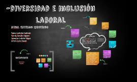 -diversidad e inclusión laboral