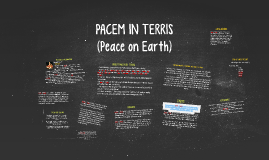 Copy of PACEM IN TERRIS