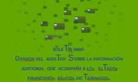 BOLETÍN 4060.