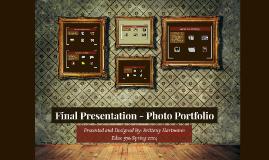 Final Presentation - Photo Portfolio