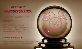 Copy of ACCESO Y CONDUCTOMETRIA