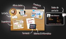 Copy of Workshop: Cv i carta de presentació