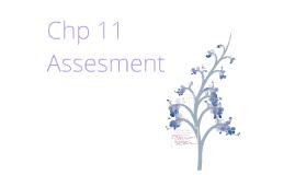 Chp 11 Assessment