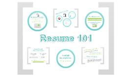 Copy of Resume Basics