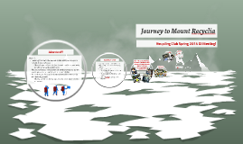 Journey to Mount Recyclia