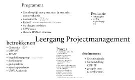 Leergang