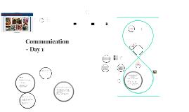 Day 1 - Communication