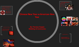 Chinese New Year vs American New Year