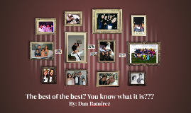 The best of the best? You know what???
