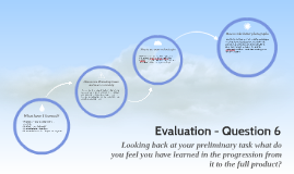 Evaluation - Question 6