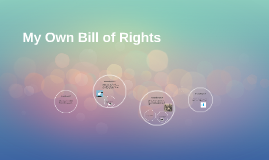 My Own Bill of Rights