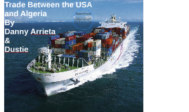 Trade between the USA and Algeria
