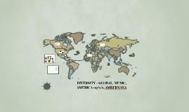 DIVERSITY - GLOBAL, MUSIC, AMBERNANA