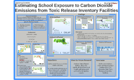 Estimating School Exposure to Carbon Dioxide Emissions from