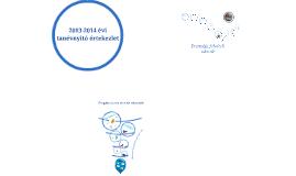 2013-2014 évi nyitó értekezlet