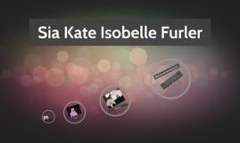 Sia Kate Isobelle Furler