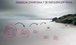 Dimension Comunitaria y de Participacion Social curso