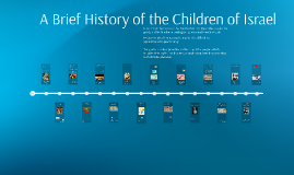 A Brief History of the Children of Israel