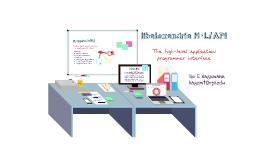 libalexandria H-L/API Overview