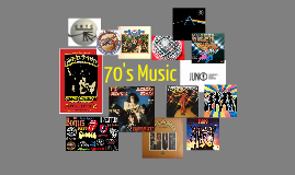Decades Project: 70's Music by madison martin