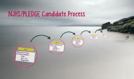 NJHS/PLEDGE Candidate Process