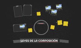 LEYES DE LA COMPOSICIÓN