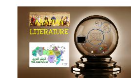 Copy of ARABIAN LITERATURE