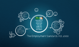 The Employment Standards Act, 2000